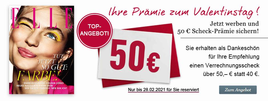 ELLE Countdown - Jetzt 50€ sichern!