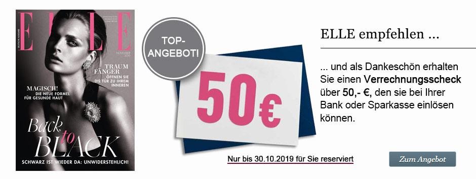 ELLE Herbst-Countdown 2019