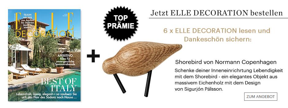 6x ELLE DECORATION lesen + Dannkeschön sichern!