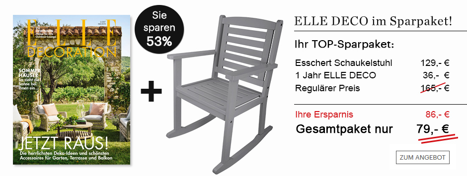 ELLE Decoration im Sparpaket!
