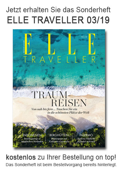 ELLE Traveller - StickyAd kostenloses Heft