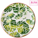 "RICE Keramik Teller-Set ""Tropic"""