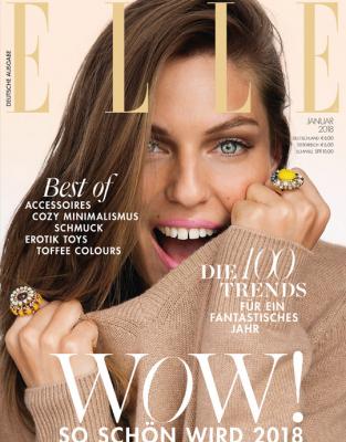 ELLE - aktuelle Ausgabe 01/2018