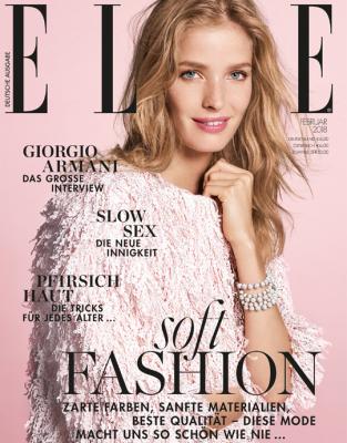 ELLE - aktuelle Ausgabe 02/2018