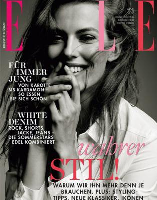 ELLE - aktuelle Ausgabe 04/2018