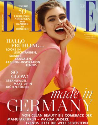 ELLE - aktuelle Ausgabe 04/2019