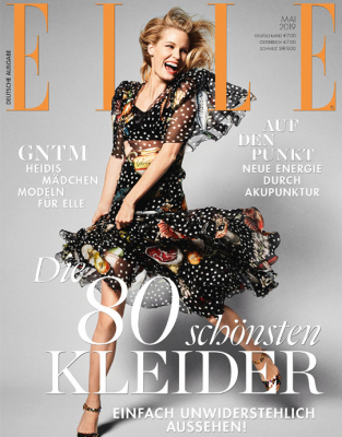 ELLE - aktuelle Ausgabe 05/2019