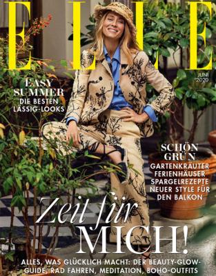 ELLE - aktuelle Ausgabe 06/2020