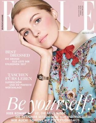 ELLE - aktuelle Ausgabe 08/2017