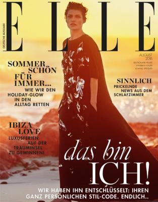ELLE - aktuelle Ausgabe 07/2018