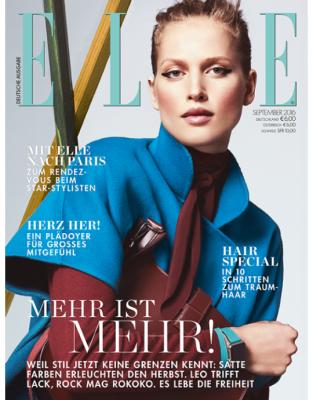 ELLE - aktuelle Ausgabe 08/2016
