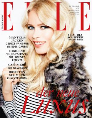ELLE - aktuelle Ausgabe 11/2018