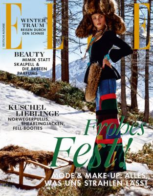 ELLE - aktuelle Ausgabe 12/2018