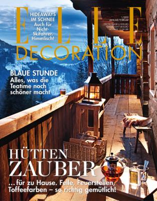 ELLE Decoration - aktuelle Ausgabe 01/2019