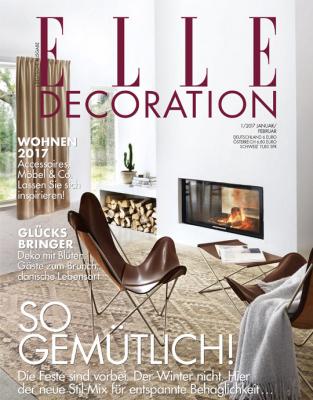 ELLE Decoration - aktuelle Ausgabe 01/2017