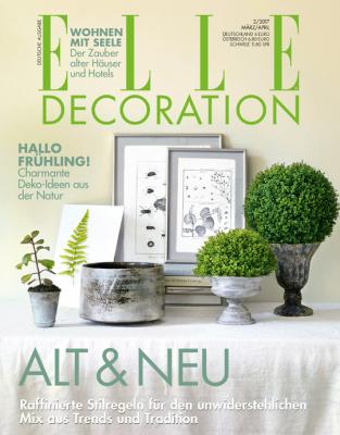 ELLE Decoration - aktuelle Ausgabe 02/2017