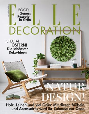 ELLE Decoration - aktuelle Ausgabe 02/2018