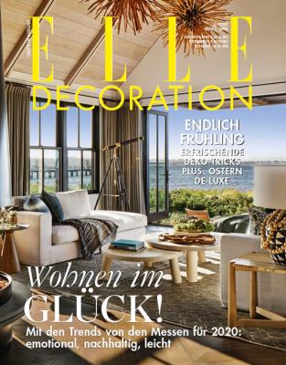 ELLE Decoration - aktuelle Ausgabe 02/2020