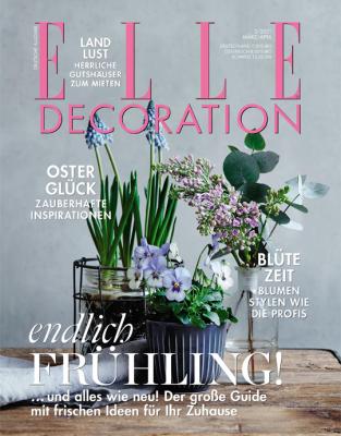 ELLE Decoration - aktuelle Ausgabe 02/2021
