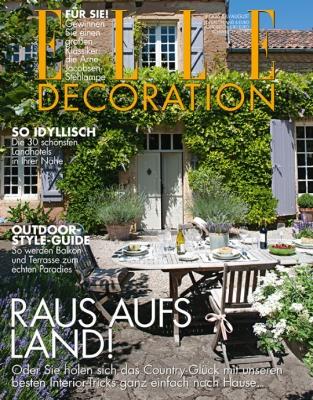 ELLE Decoration - aktuelle Ausgabe 04/2016
