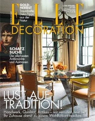 ELLE Decoration - aktuelle Ausgabe 05/2016