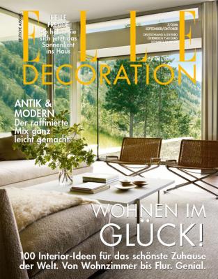 ELLE Decoration - aktuelle Ausgabe 05/2018