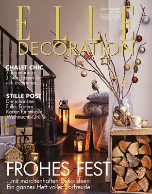 ELLE Decoration - aktuelle Ausgabe 06/2016