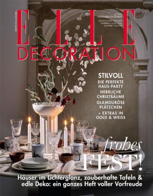 ELLE Decoration - aktuelle Ausgabe 06/2020
