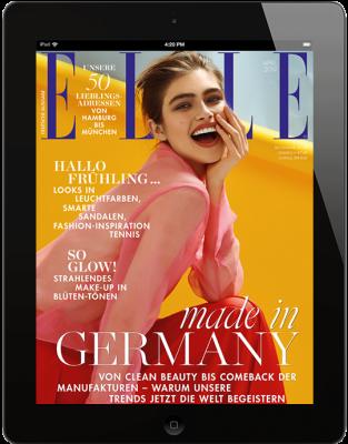 ELLE E-Paper - aktuelle Ausgabe 04/2019