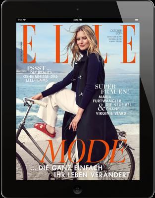 ELLE E-Paper - aktuelle Ausgabe 10/2019