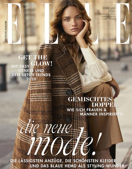 ELLE - aktuelle Ausgabe 02/2020
