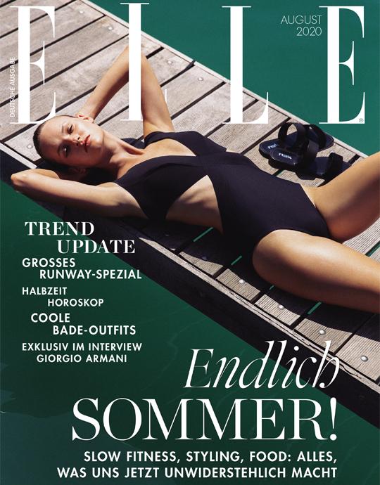 ELLE - aktuelle Ausgabe 08/2020