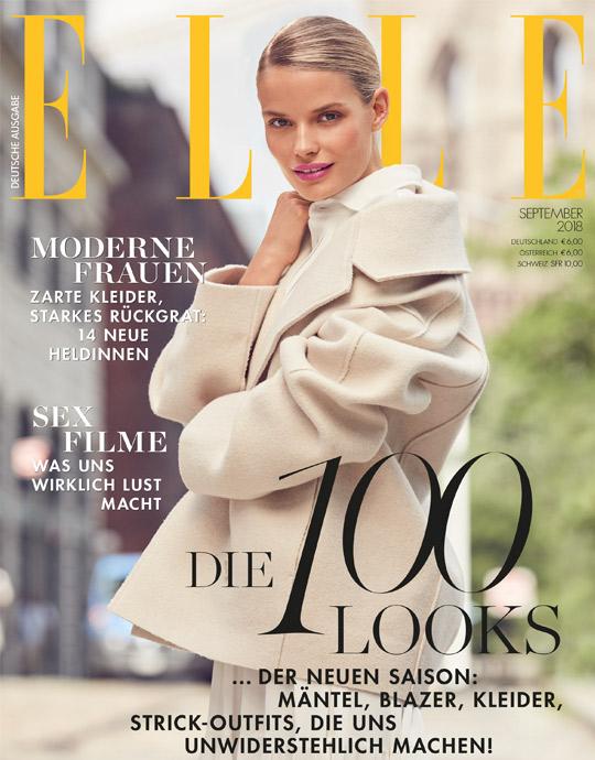 ELLE - aktuelle Ausgabe 09/2018