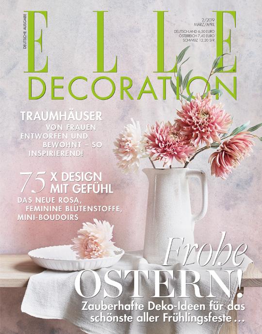 ELLE Decoration - aktuelle Ausgabe 02/2019