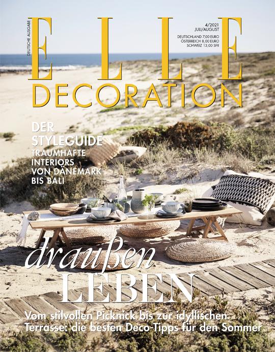 ELLE Decoration - aktuelle Ausgabe 04/2021