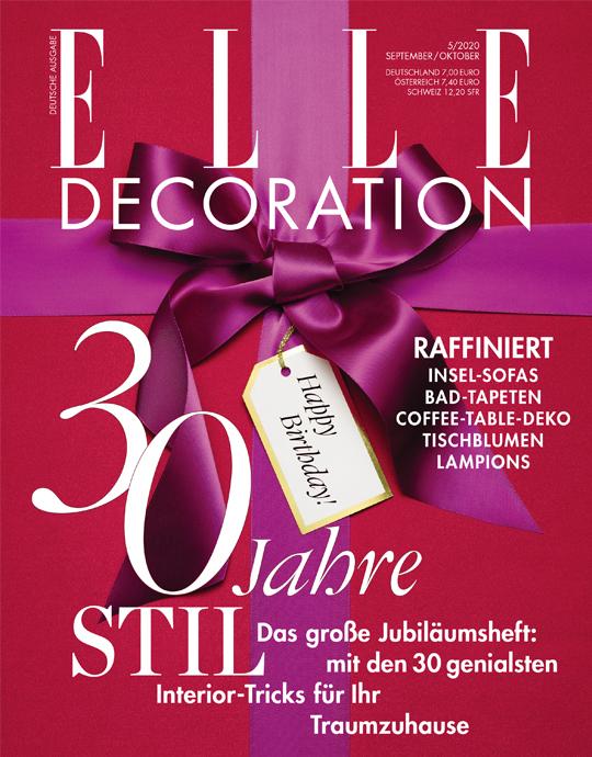 ELLE Decoration - aktuelle Ausgabe 05/2020