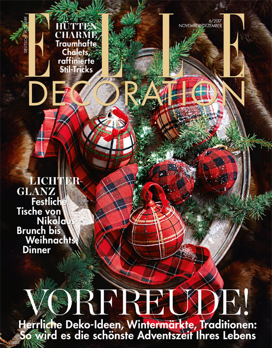 ELLE Decoration - aktuelle Ausgabe 06/2017