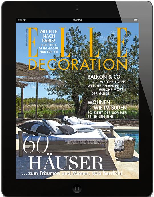 ELLE DECORATION E-Paper - aktuelle Ausgabe