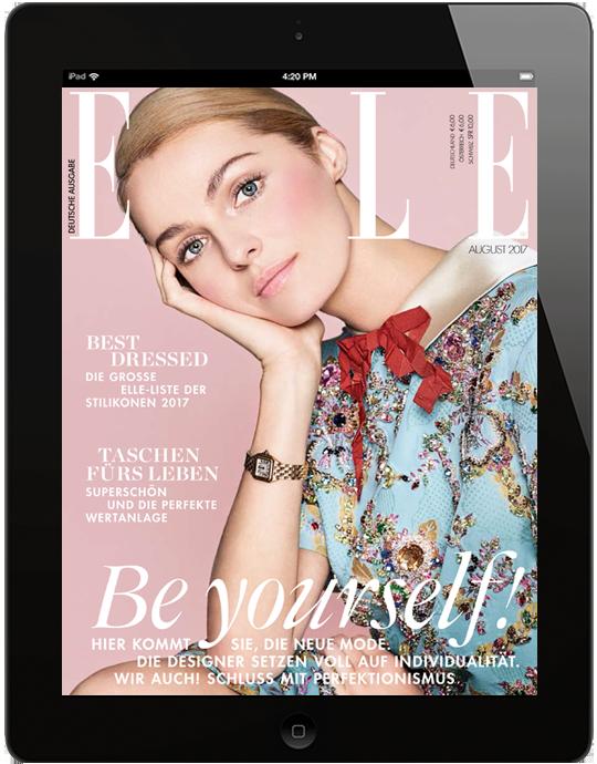 ELLE E-Paper - aktuelle Ausgabe 05/2017