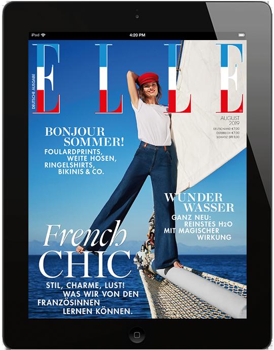 ELLE E-Paper - aktuelle Ausgabe 08/2019