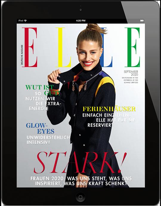 ELLE E-Paper - aktuelle Ausgabe 09/2020